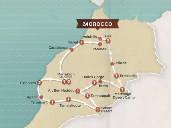 Israel, Jordan & Morocco: 3 Awesome Topdeck Tours to Book